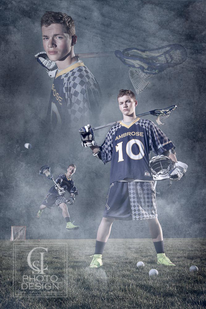 Senior boy LaCrosse sport composite