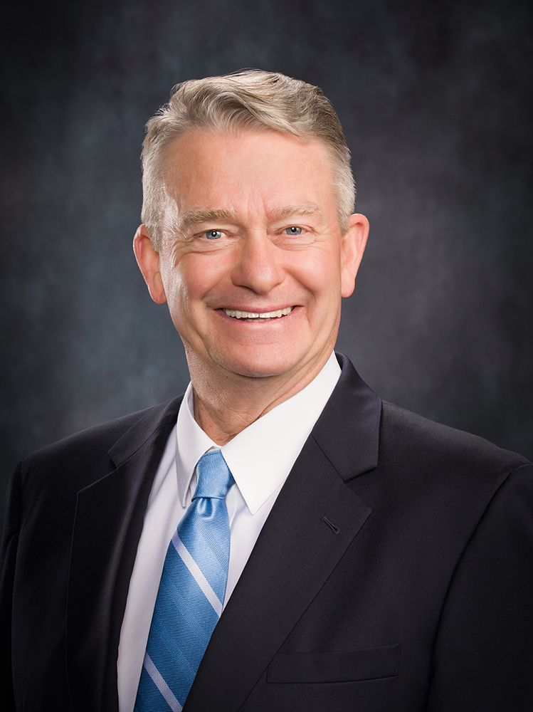 business portrait of Brad Little